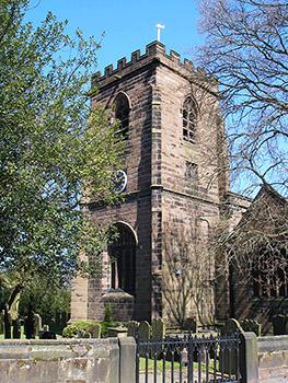 Photographs of Daresbury, Cheshire, England, UK