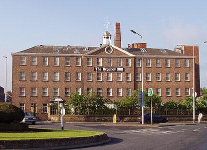 Regency Mill, Entrance