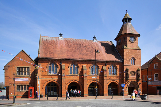 Photographs Of The Town Centre Of Sandbach Cheshire