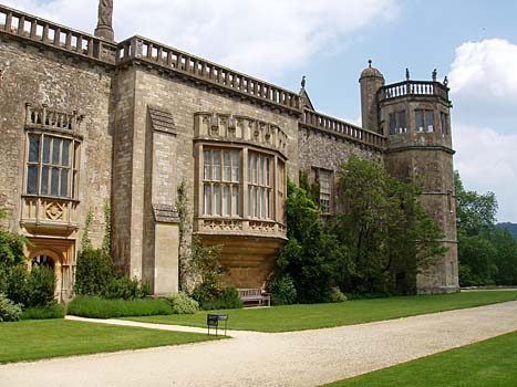 Photographs of site of Harry Potter filming at Lacock Abbey, Wiltshire, England, United Kingdom